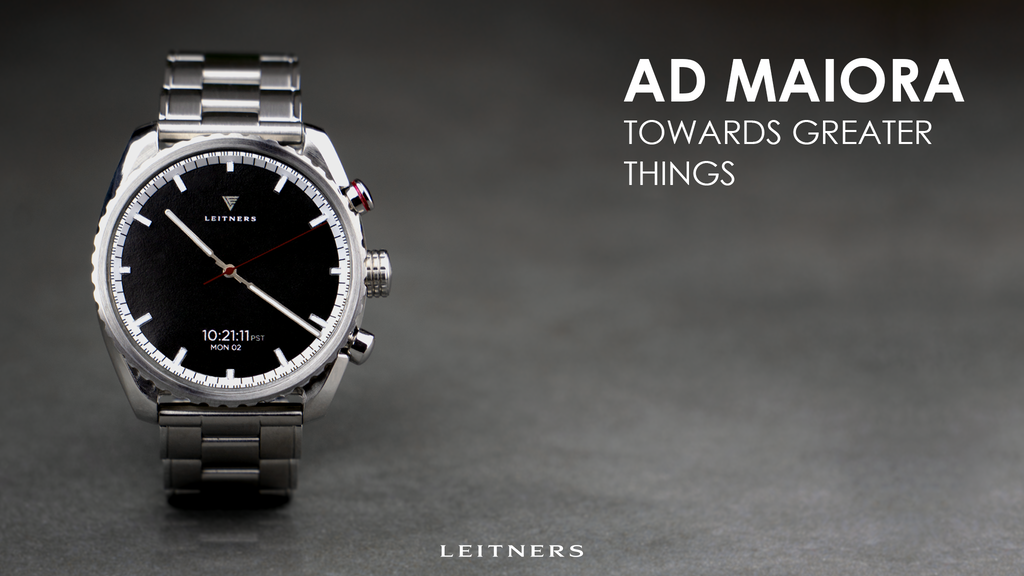 Leitners Hybrid Smartwatch - The Future of Automatic Watches