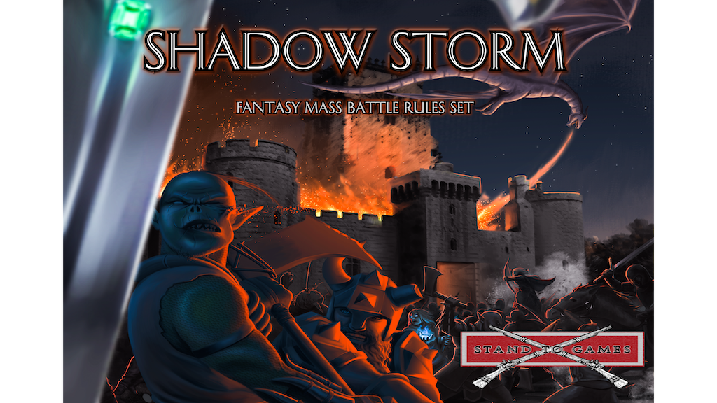 Project image for Shadow Storm - Tabletop Mass Fantasy Battle Game (Canceled)