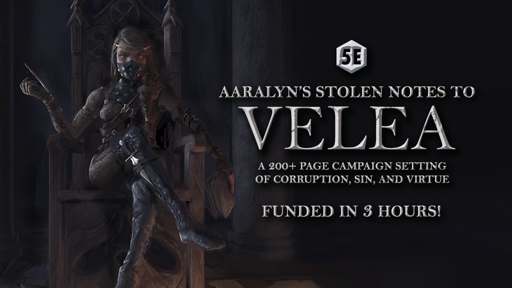 Aaralyn's Stolen Notes to Velea (Reprint) - 5e Setting project video thumbnail