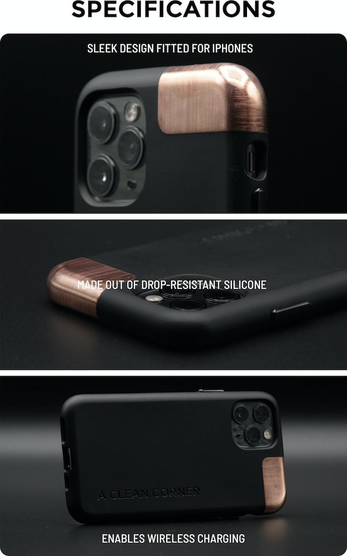 自動消毒iPhone手機殼 CleanCorner