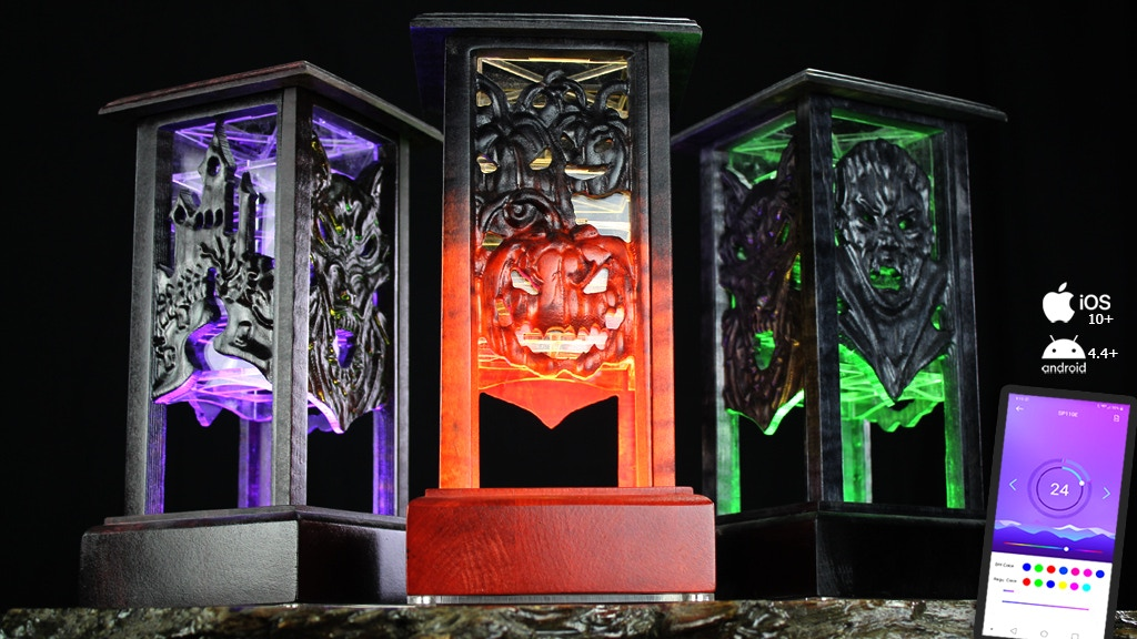 Limited Edition Halloween Lantern Dice Tower project video thumbnail