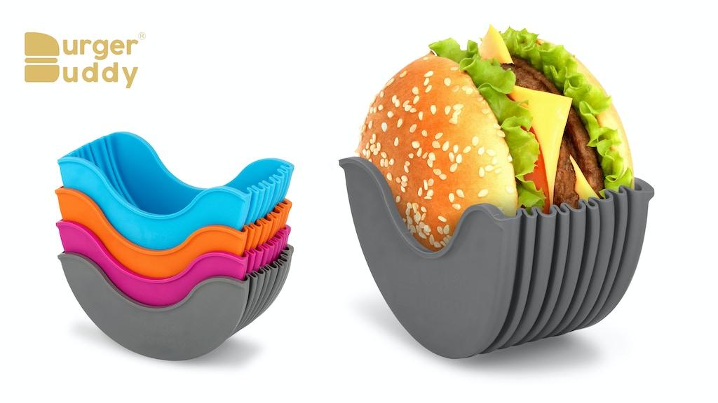 Burger Buddy : Enjoy a mess-free eating experience