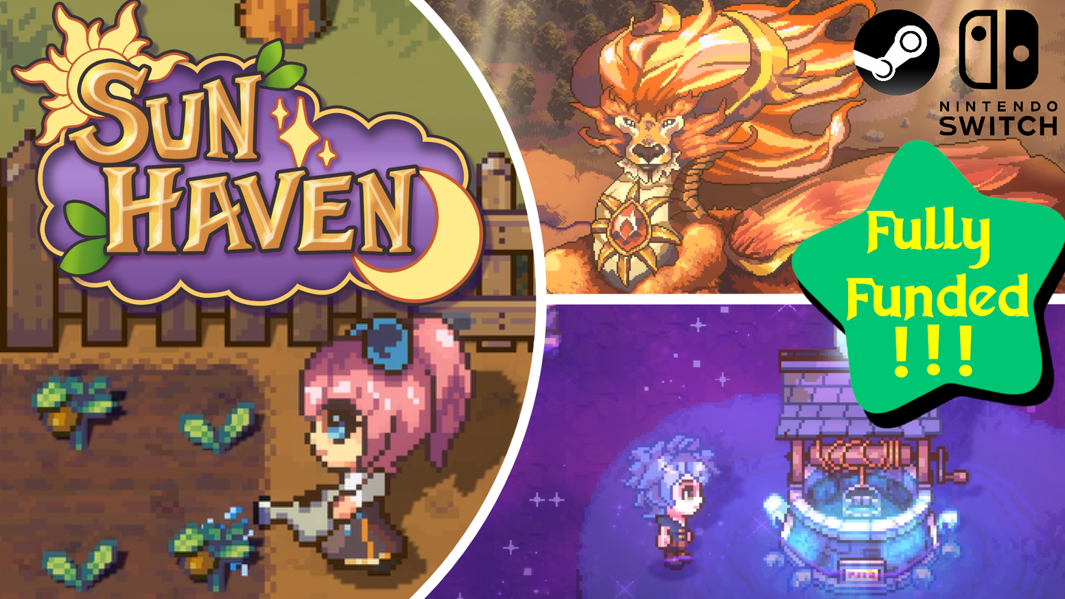 Sun Haven A Multiplayer Farming Sim And Fantasy Rpg By Pixel Sprout Studios Kickstarter