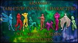 Arammu - Tinar: Fantasy Metal/Resin Minis & 3D Print files thumbnail