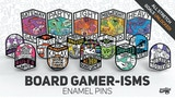 Board Gamer-Isms Enamel Pin Set thumbnail