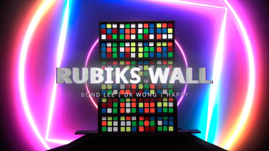 Rubik's Wall by MS Magic | The Perfect Rubik's Cube Magic project video thumbnail
