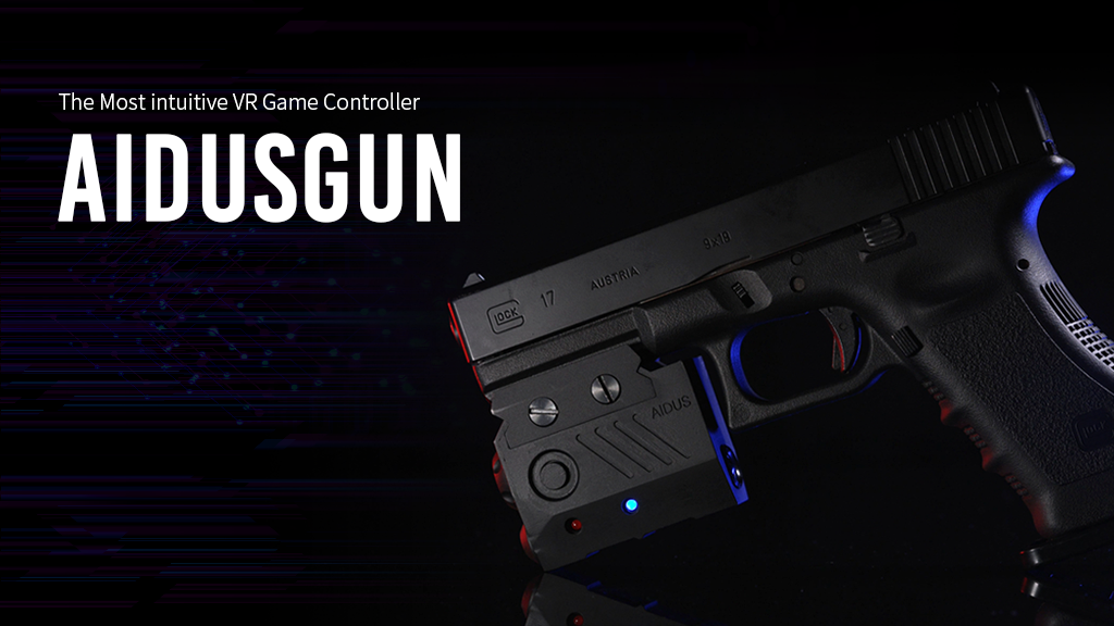 Aidusgun : intuitive VR Game Controller