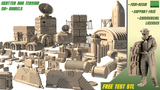 SciFi Scatter and Terrain for Wargames-3D Printable STL thumbnail