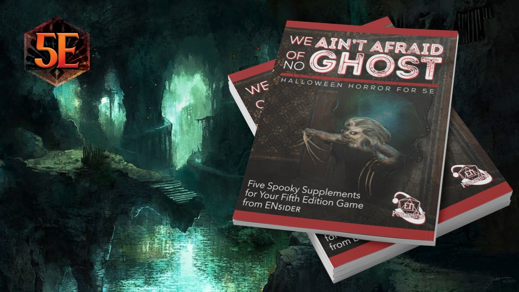 Project image for We Ain't Afraid Of No Ghost: Halloween Horror For 5E
