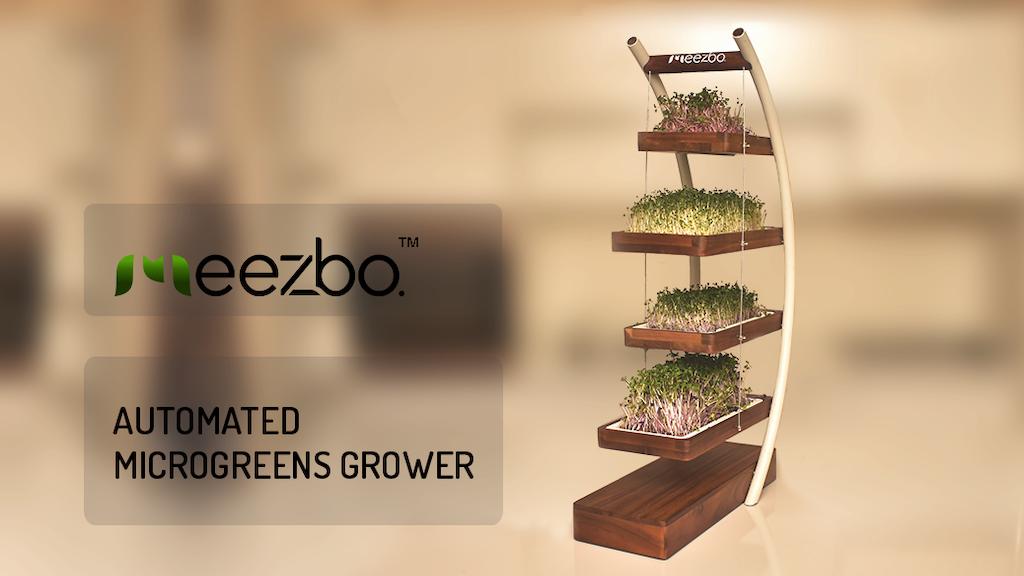 MEEZBO | AUTOMATED MICROGREENS GROWER