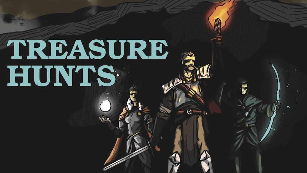 Project image for Treasure Hunts: Quests for D&D 5E
