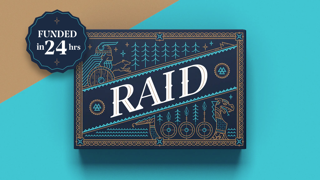 Raid - A Viking Card Game project video thumbnail