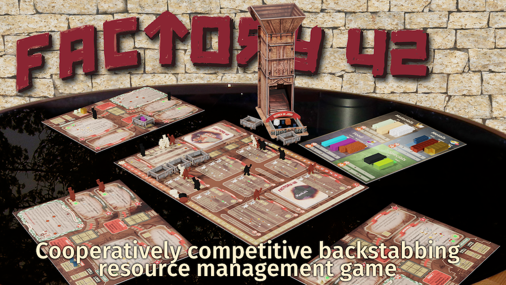 Factory 42 board game project video thumbnail