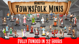 D&D Inspired TOWNSFOLK Mini Figures By Monster Gaming thumbnail