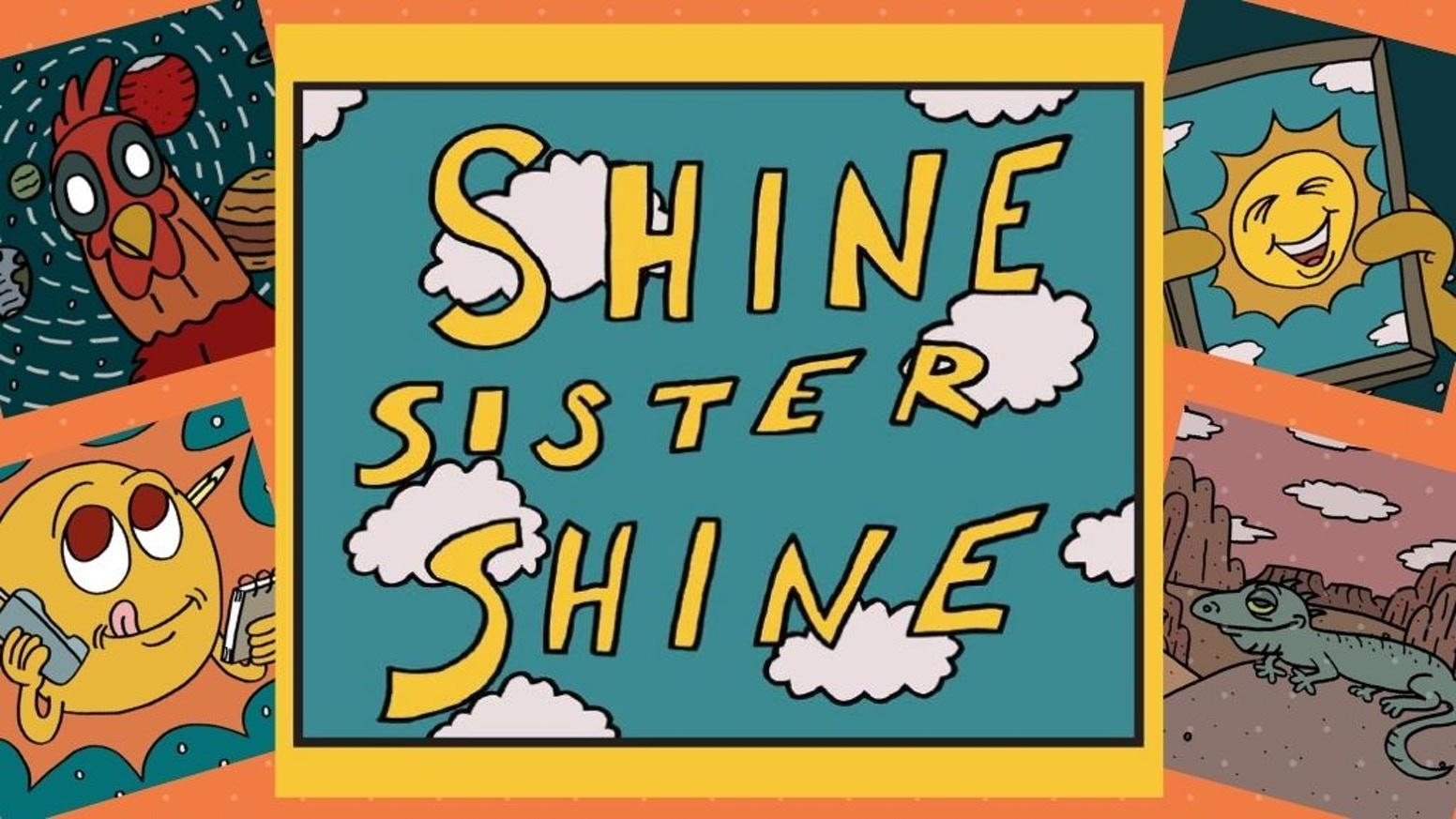 A new classic, animated storybook for children-of-all-ages, adapted from Lara's original uplifting song & animated music video. Be who you are, Do what you love, Share your superpowers. Shine.