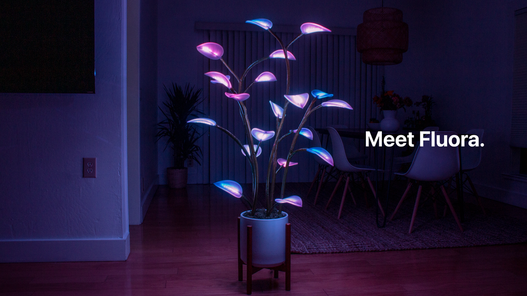 Fluora - The Magical LED Houseplant project video thumbnail