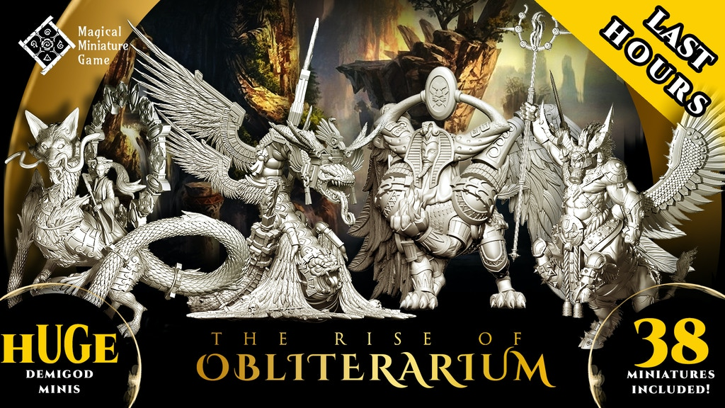 The Rise Of Obliterarium - Fantasy Miniatures project video thumbnail
