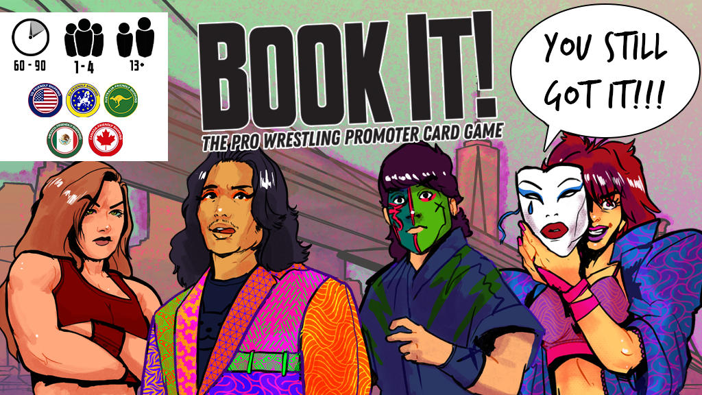 Project image for Book It! Expansion 2: You Still Got It! + Third Printing