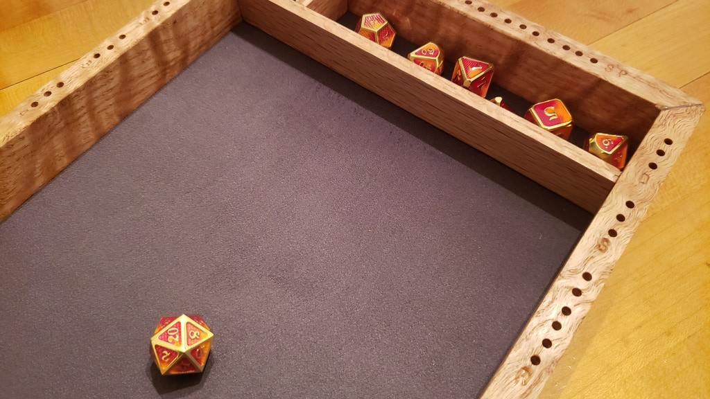 Project image for Custom dice trays by Attercop