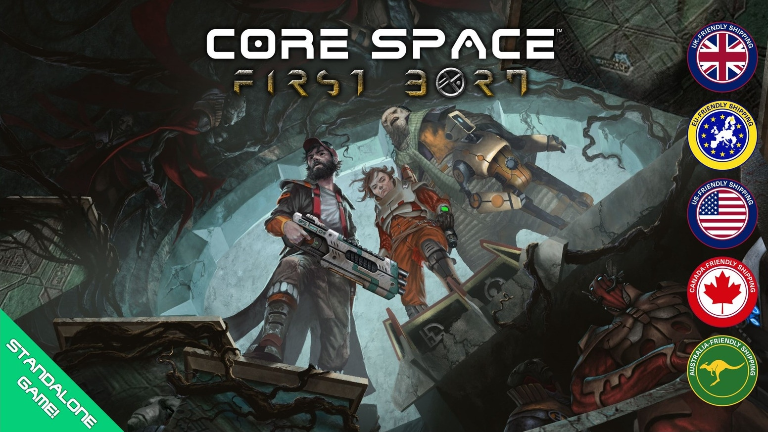 Return to 2019's bestseller Core Space with this standalone starter set featuring a terrifying new enemy, new terrain and more!