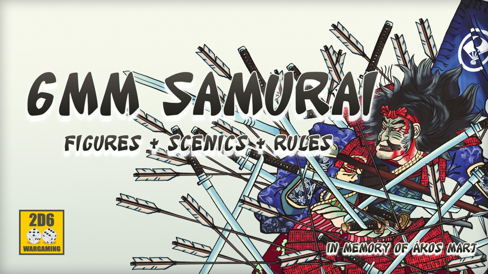 6mm Samurai pewter figures, resin buildings and free PDF rules!
