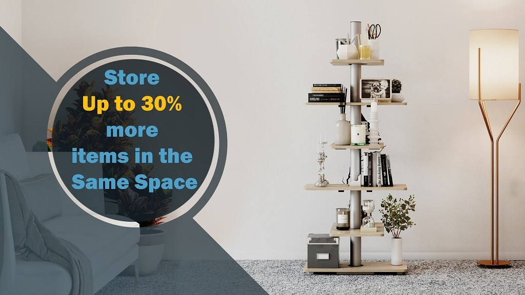 Slide Shelves - Maximize Space With Minimal Effort