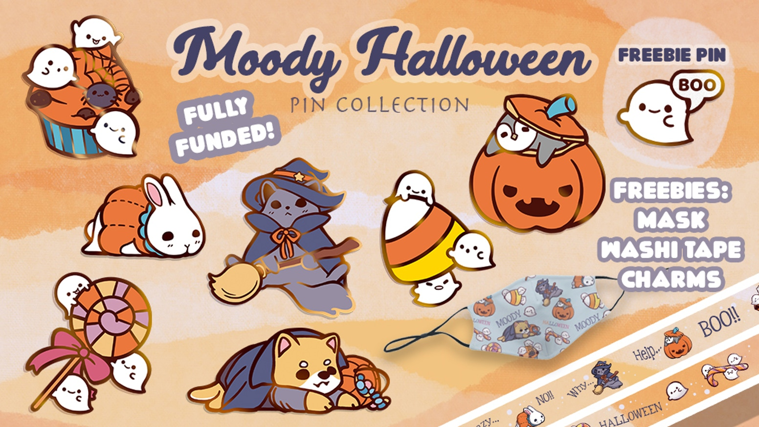Moody animals having to deal with Halloween plus some spooky cuties!