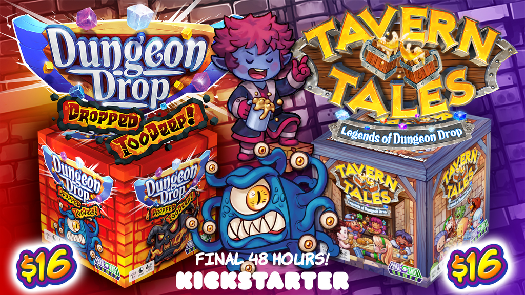 Dungeon Drop: Dropped Too Deep and Tavern Tales project video thumbnail