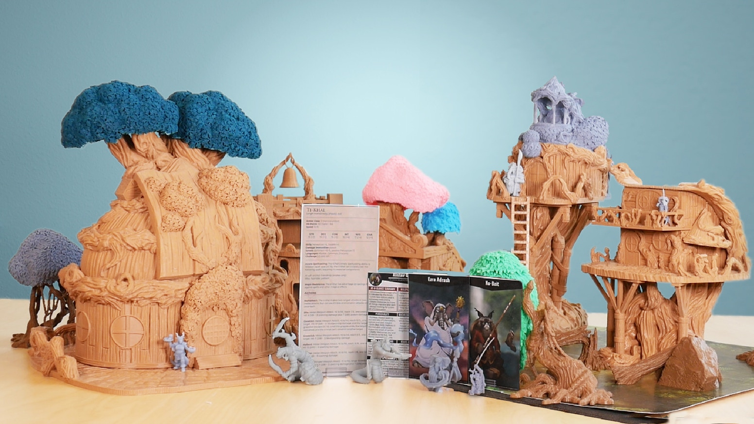 Creating 3D Printable Minis, Terrain, Maps, and Accompanying RPG Content for Home 3D Printers.