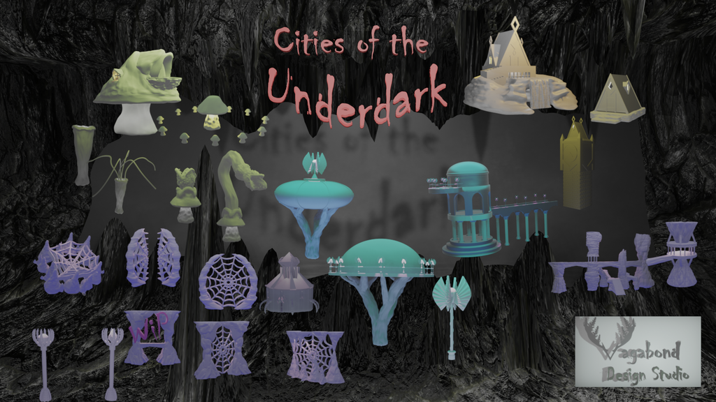 Project image for Cities of the Underdark