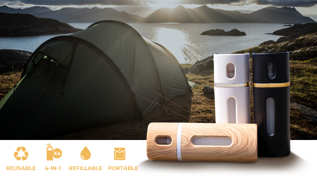 Lasbottle: 4IN1 Reusable, Refillable Travel Liquid Dispenser