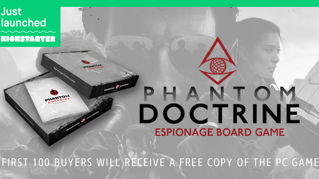 Phantom Doctrine - Espionage Board Game
