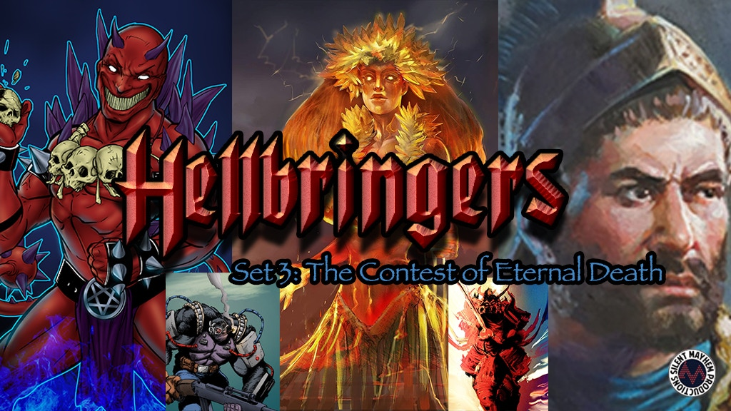 Project image for Hellbringers the Card Game