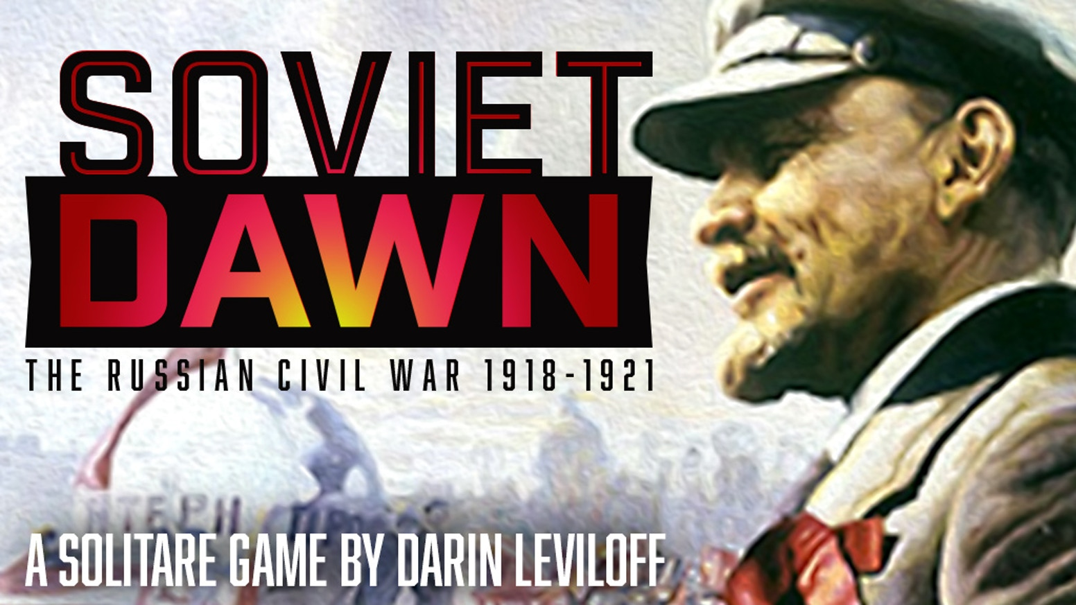 The deluxe edition and update of the classic Solitaire game, SOVIET DAWN. Can you deal with the great crises of the Revolution?