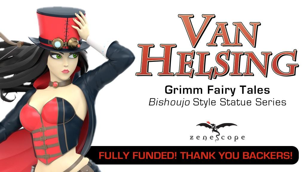 Zenescope's Van Helsing Bishoujo Style Collectible Statue project video thumbnail