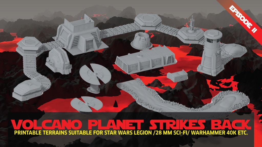 Project image for Printable terrain: Add on & new bunker system 28/32mm stl