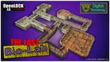 The Lost Bio-Research Lab - Sci-fi vault/dungeon complex STL thumbnail