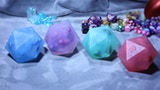 D20 soap: with dice set inside thumbnail