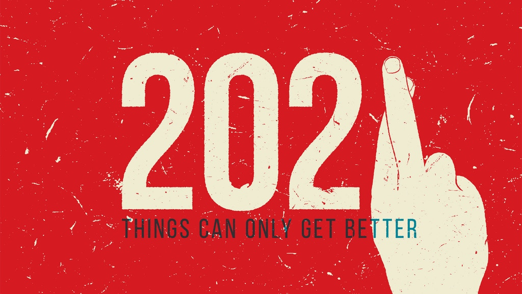 Project image for 2021: Things can only get better - Calendar