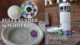 Tinkered Tower - A Fully Modular Dice Tower & Storage Unit thumbnail