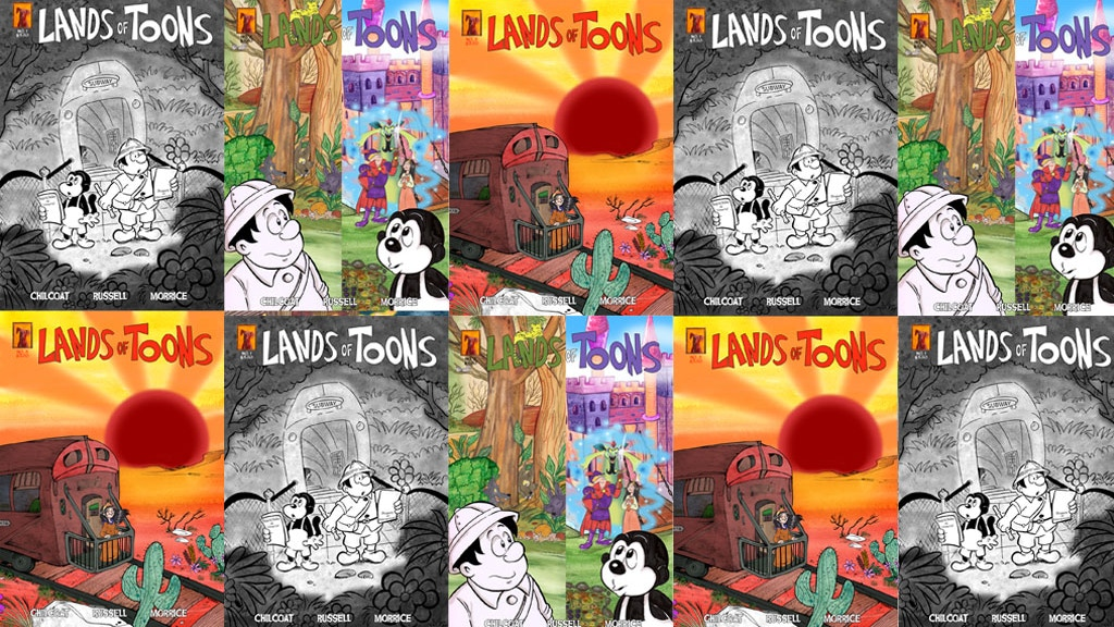 Lands of Toons Issue 3 project video thumbnail