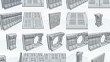 3D Printed Modular Sci-Fi Table Top Game Terrain STL Files thumbnail