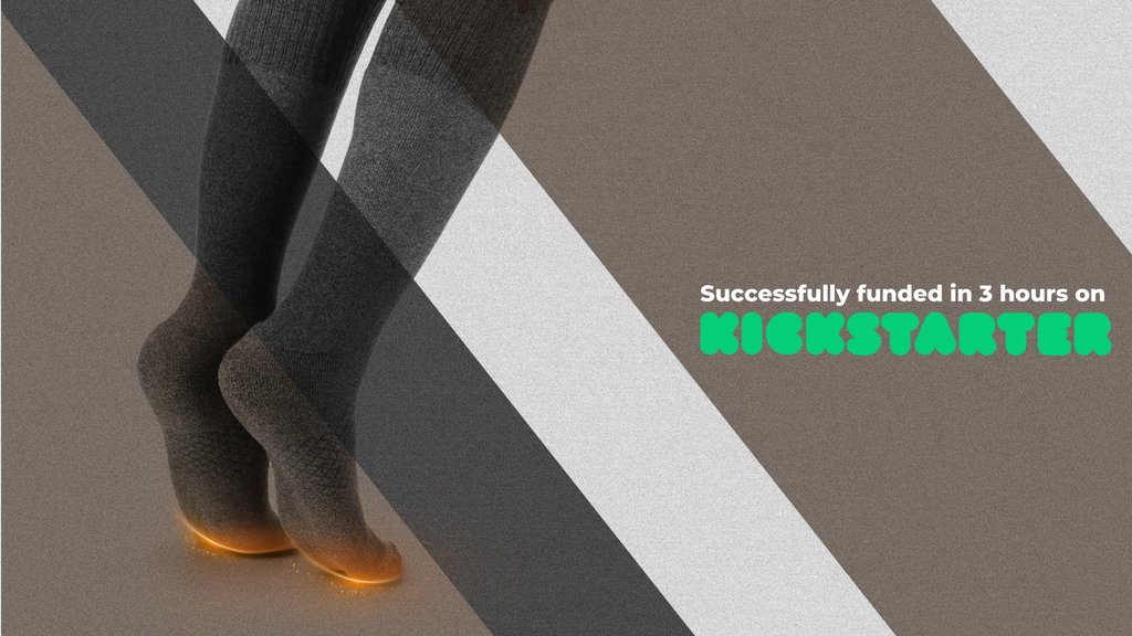 "ORORO ""Redwood"" Carbon Nanotube Heated Socks project video thumbnail"