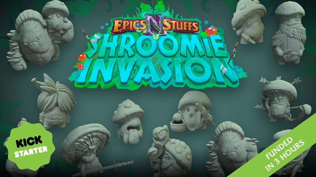 Project image for Epics 'N' Stuffs Miniatures - Shroomie Invasion