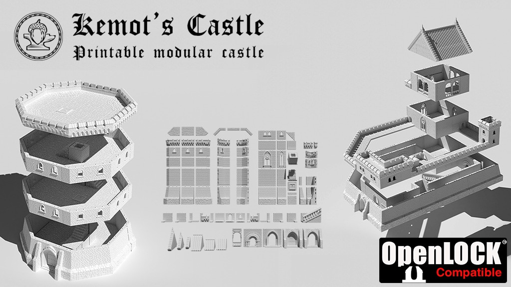 Project image for Modular Kemot's Castle