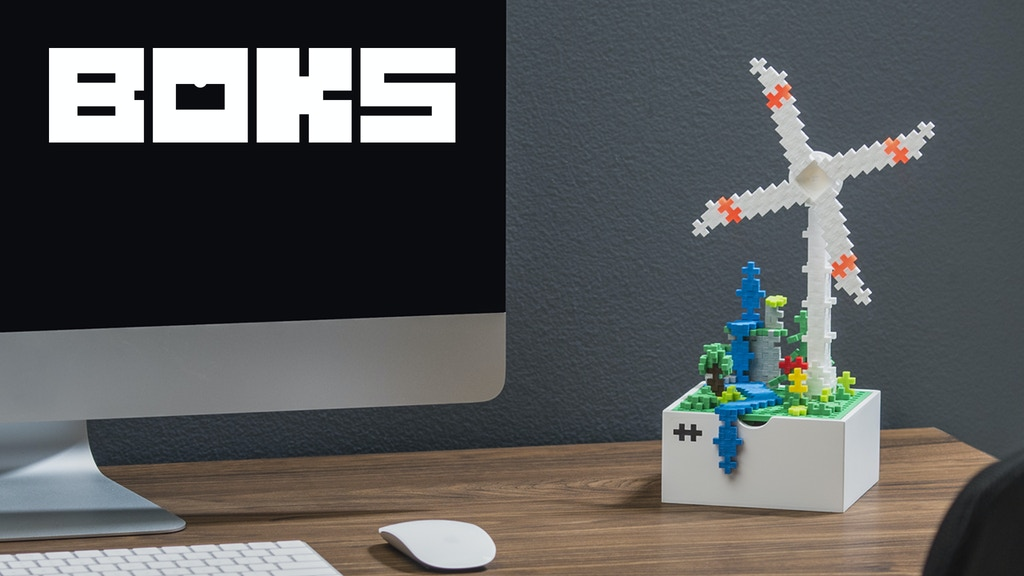 BOKS - the creative desk toy with endless possibilities