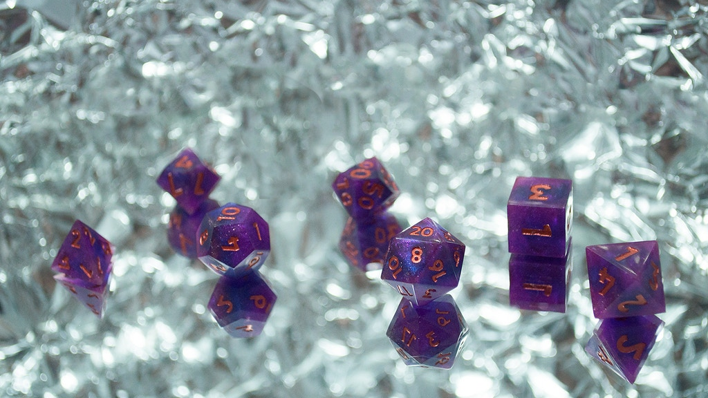 Astral Anomalies - Sharp Edged Handmade RPG Dice project video thumbnail