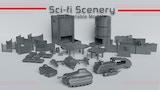 Sci-Fi Scenery 3D Printable Models thumbnail