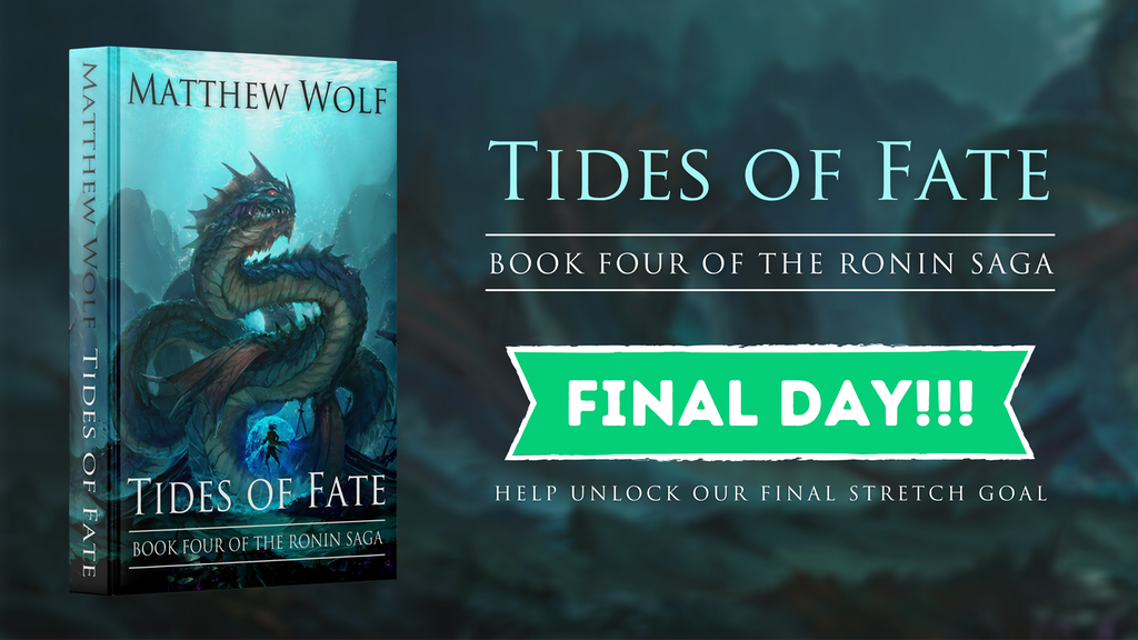 Tides of Fate - Book Four of the RONIN SAGA project video thumbnail