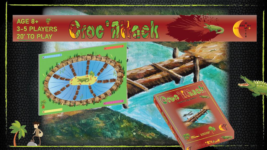 Project image for Croc'Attack - Adventure in Crocodile Land